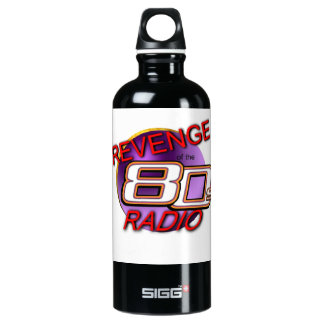 Revenge of the 80s water bottle