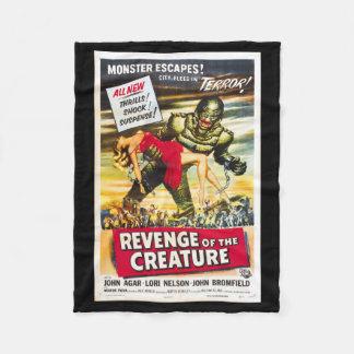 Revenge of the Creature Movie Poster Blanket
