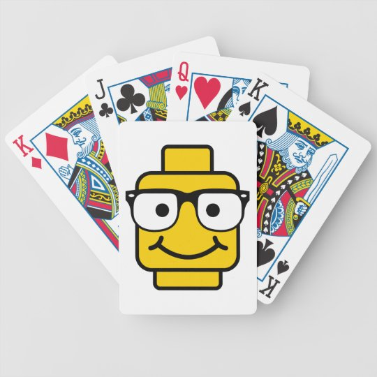 (Revenge of the) Nerdy Brick Head Bicycle Playing Cards