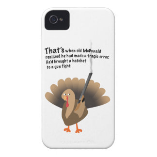 Revenge of the turkey iPhone 4 Case-Mate case