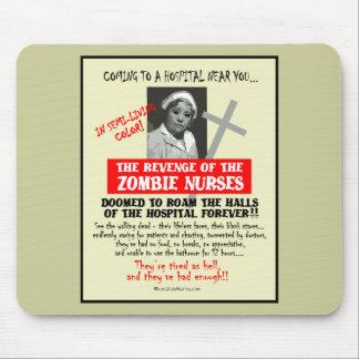Revenge of the Zombie Nurses Mouse Pad