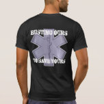 Reventar los nuestros para ahorrar el suyo camiseta