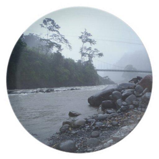 Reventazon River Florida Section Costa Rica Plate