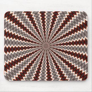 Reverberation Kaleidoscope Pattern Mouse Pad