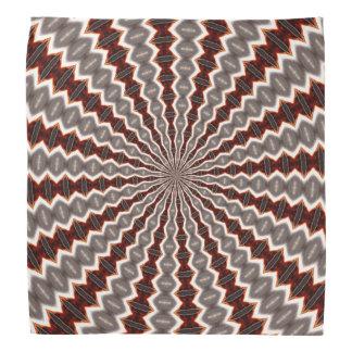Reverberation Kaleidoscope Pattern Bandana