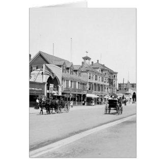 Revere Beach, Mass., 1905 Greeting Card