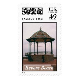 Revere Beach Pavillion, Revere Massachusetts Stamp