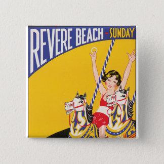 Revere Beach Sunday Button