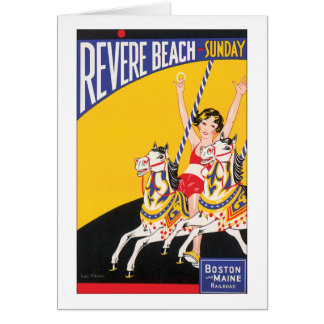Revere Beach Sunday Card