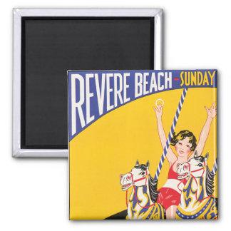 Revere Beach Sunday Magnet
