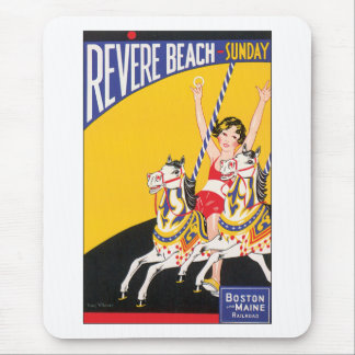 Revere Beach Sunday Mouse Pad