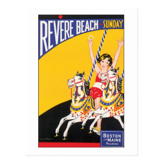 Revere Beach Sunday Postcard