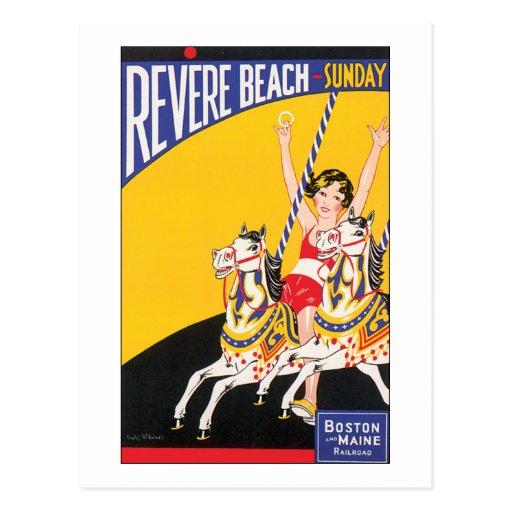 Revere Beach Sunday Postcards