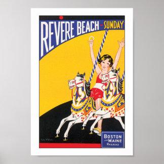 Revere Beach Sunday Poster