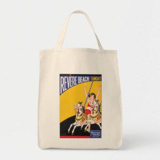Revere Beach Sunday Tote Bag