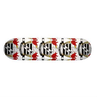 Revere Family Crest Custom Skate Board