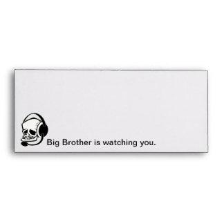 Revere Radio Orwell Big Brother Envelopes Envelope