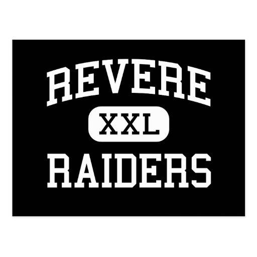 Revere - Raiders - High School - Ovid Colorado Postcard