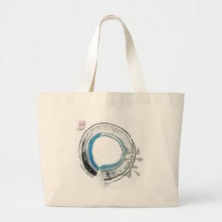 Reverencia del zen, Enso [azul, negro, tonos plate Bolsa