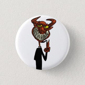 Reverend Beelzebub Button