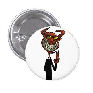 Reverend Beelzebub Pinback Button