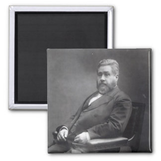 Reverend Charles Haddon Spurgeon 2 Inch Square Magnet