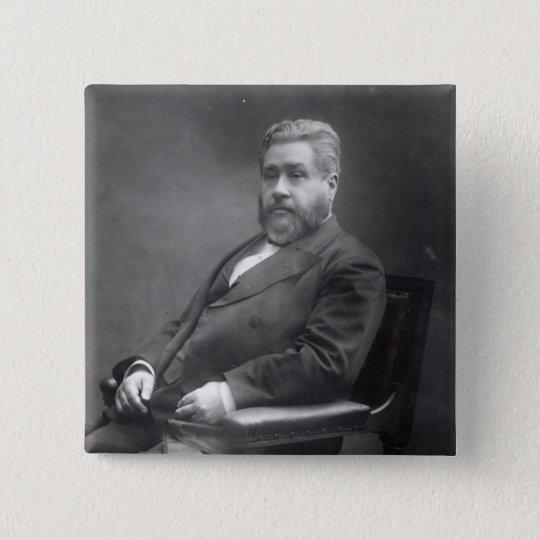 Reverend Charles Haddon Spurgeon Pinback Button