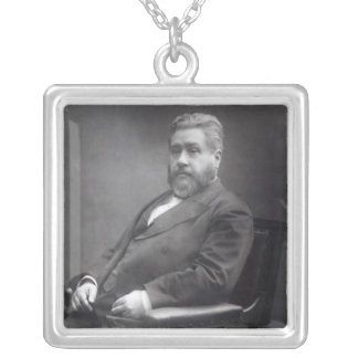 Reverend Charles Haddon Spurgeon Silver Plated Necklace