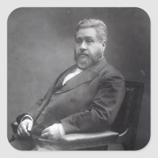 Reverend Charles Haddon Spurgeon Square Sticker