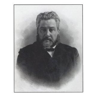 Reverend Charles Haddon Spurgeon Wood Wall Art