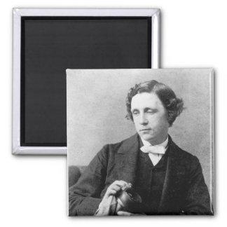 Reverend Charles L. Dodgson 1863 2 Inch Square Magnet