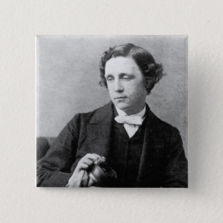 Reverend Charles L. Dodgson 1863 Pinback Button