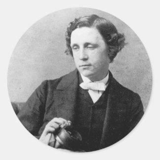 Reverend Charles L Dodgson 1863 Stickers