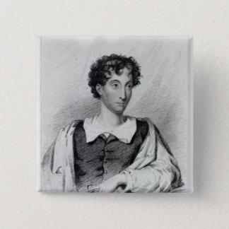 Reverend Charles Robert Maturin Pinback Button