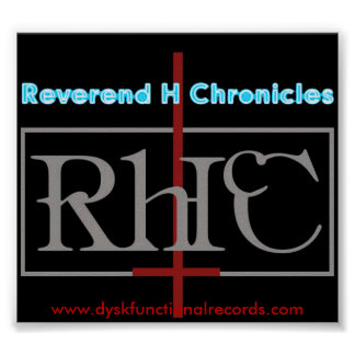 Reverend H Chronicles anti god Poster