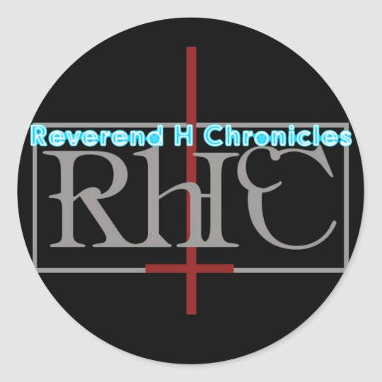 Reverend H Chronicles anti god stickers