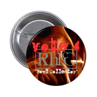 Reverend H Chronicles soul collector Button