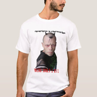 """Reverend H Chronicles """"soul collector"""" T-Shirt"""