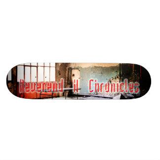 "Reverend H Chronicles ""un-defined"" Skateboard"