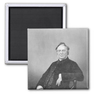Reverend Hugh Stowell, engraved by D. J. Pound 2 Inch Square Magnet