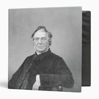 Reverend Hugh Stowell, engraved by D. J. Pound 3 Ring Binder