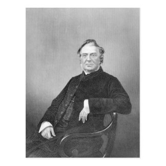 Reverend Hugh Stowell, engraved by D. J. Pound Postcard