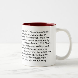 Reverend John Wheelwright mug