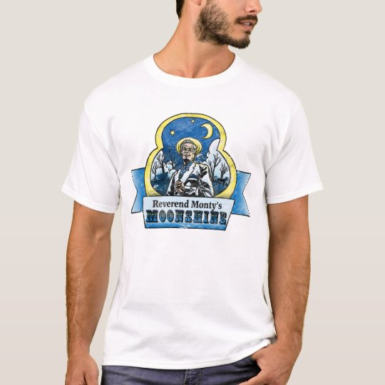 Reverend Monty's Moonshine T-shirt