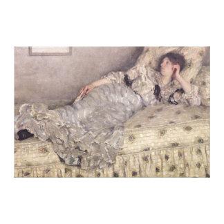 Reverie, 1903 canvas print