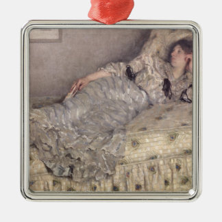Reverie, 1903 metal ornament