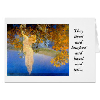 Reveries 1913, They lived and laughed and loved... Card