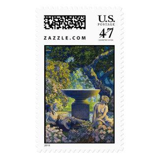 Reveries, Maxfield Parrish Postage Stamp