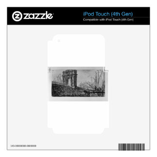 Reversal of the Temple of Pola in Istria Decals For iPod Touch 4G