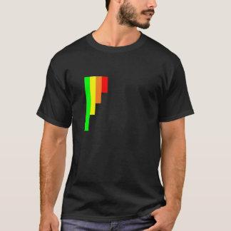reverse bar-chart, custom t-shirt design